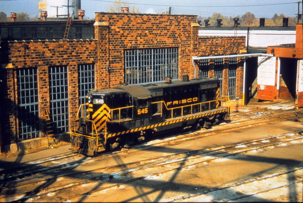 GP7 545 at St. Louis, Missouri (date unknown) (Jim Ozment)