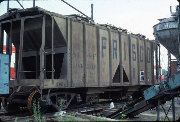 Hopper 104366 at St. Louis, Missouri in June 1981 (Ken McElreath)