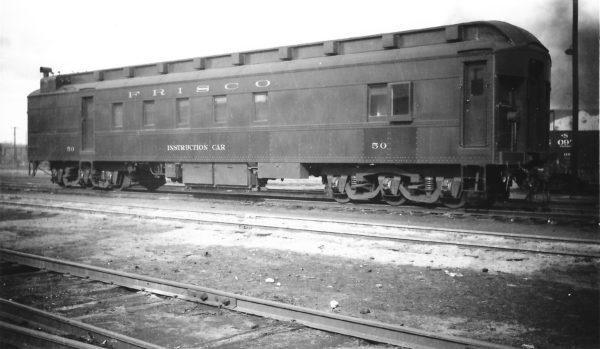 Instruction Car 50 at Springfield, Missouri on November 27, 1947 (Arthur B. Johnson)