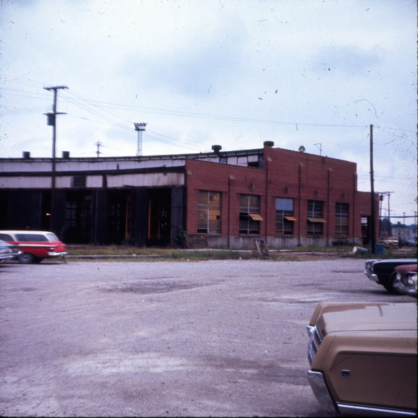 Lindenwood Yard Roundhouse, St. Louis, Missouri in August 1970 (Ken McElreath)