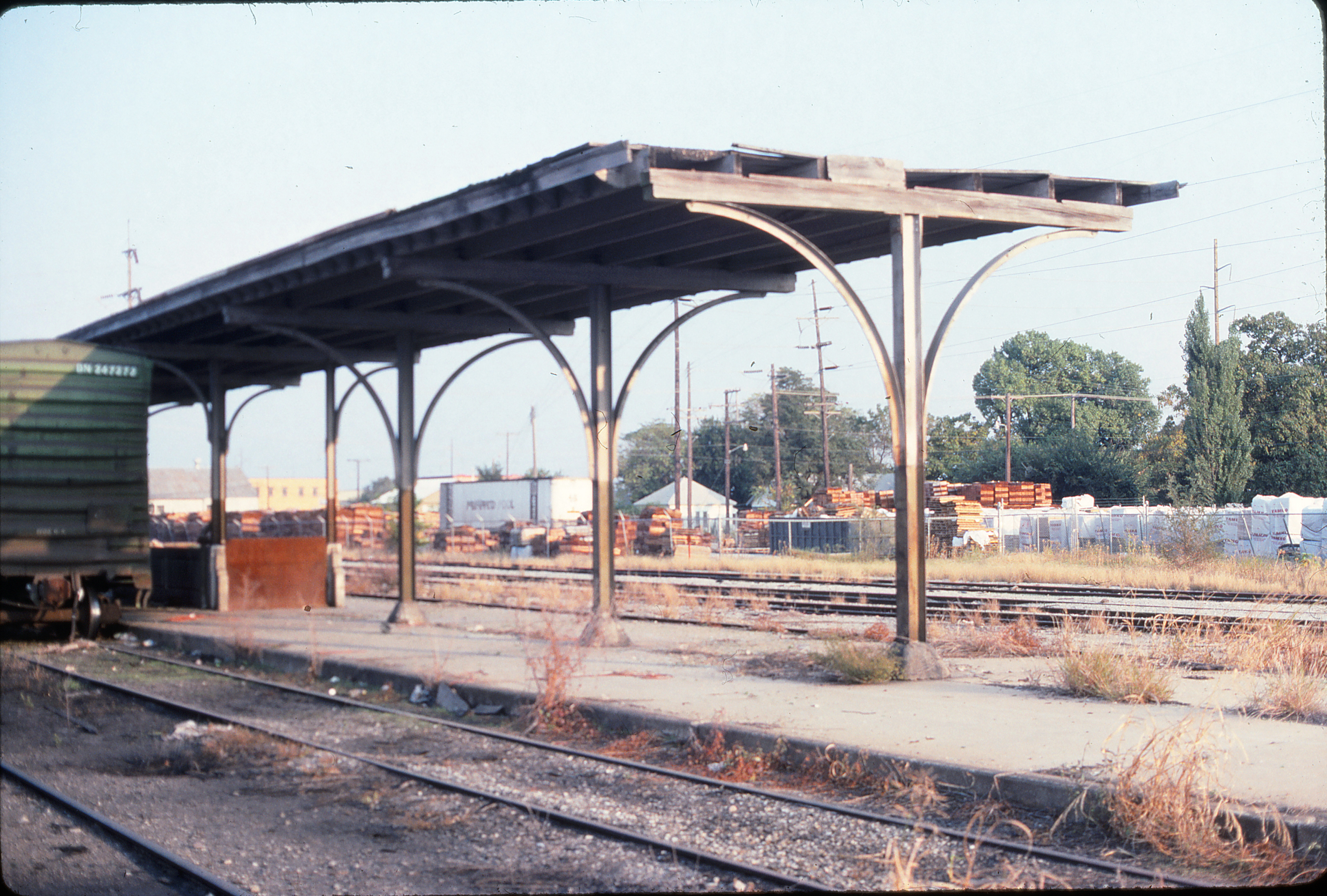 Oklahoma City Union Station in September 1989 (Ken McElreath)