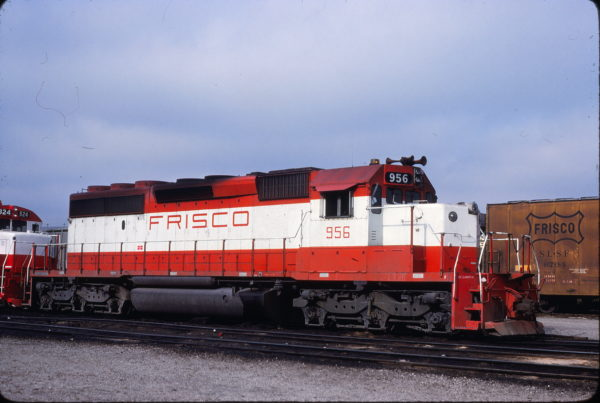 SD40-2 956 at Kansas City, Missouri on April 18, 1980 (John Benson)