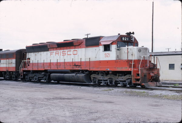 SD45 921 at Birmingham, Alabama on May 28, 1972 (W.S. Folsom)