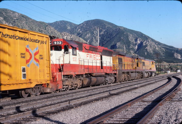 SD45 932 at El Cajon, California in July 1978 (Bob Gottier)