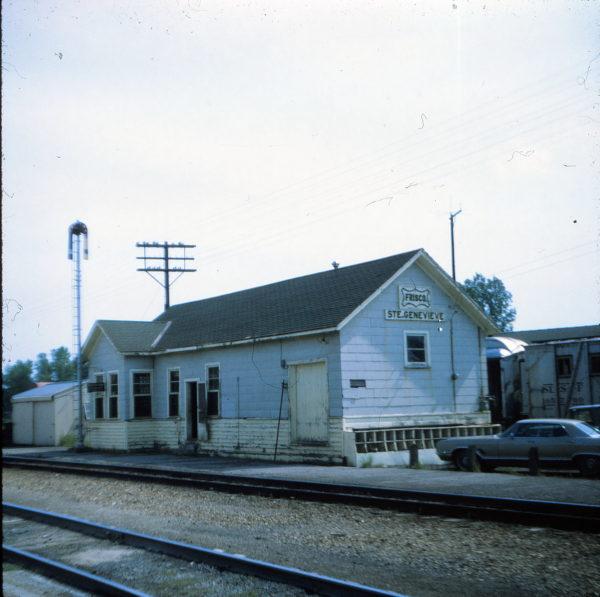 Ste. Genevieve, Missouri Depot in 1971 (Ken McElreath)