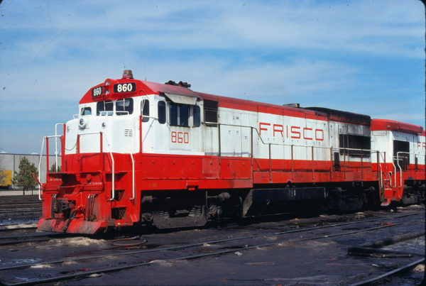 U30B 860 at North Little Rock, Arkansas on March 10, 1978 (J. Harlan Wilson)