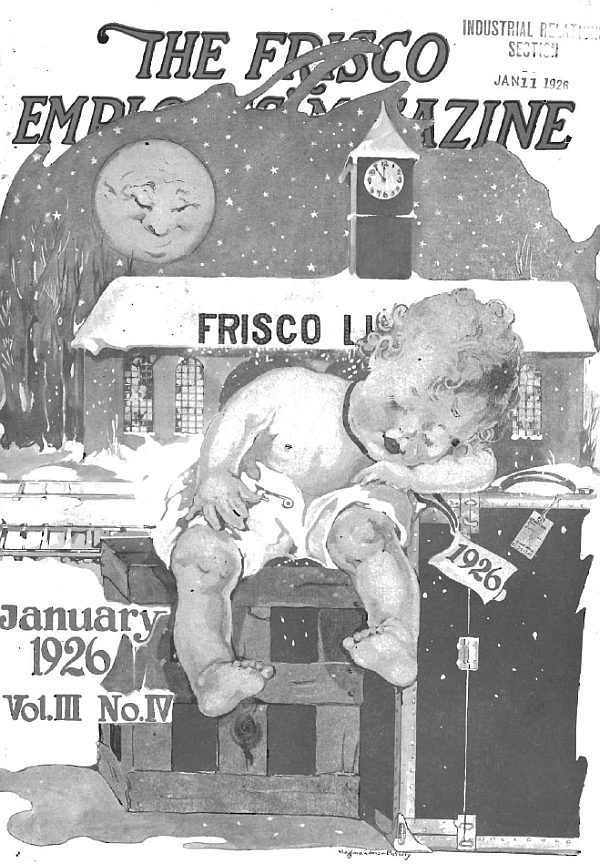 Frisco Employes' Magazine - January 1926