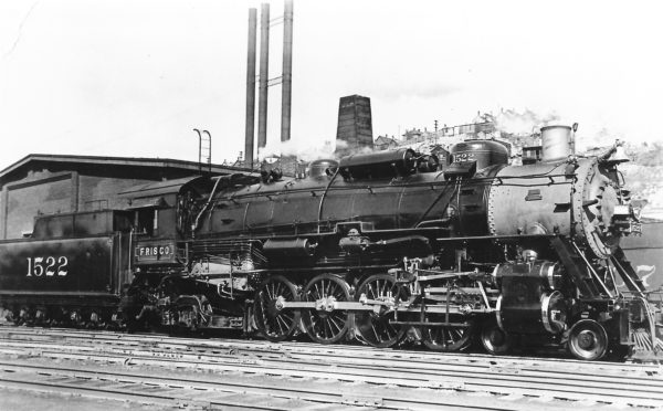 4-8-2 1522 at Kansas City, Missouri (date unknown)