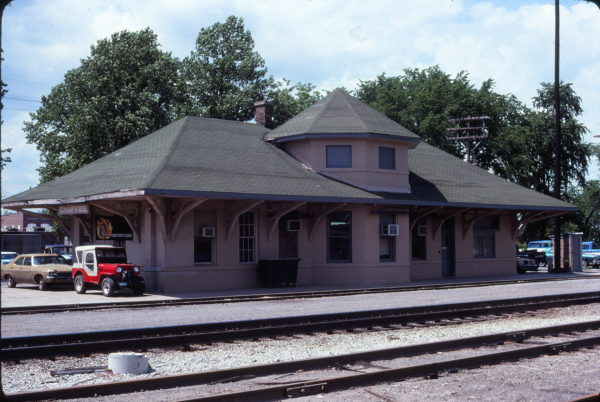 Chaffee, Missouri Depot in May 1979 (Ken McElreath)