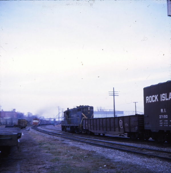 GP7 615 at Cape Girardeau, Missouri (date unknown) (Ken McElreath)