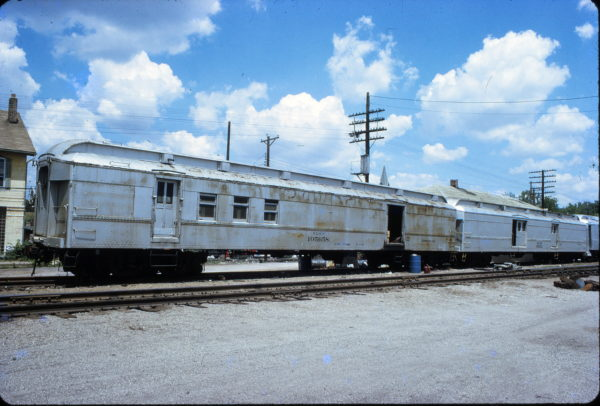 Generator Car 105658 at Valley Park, Missouri on July 5, 1972
