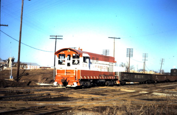 H-10-44 274 at Tulsa Tower (MP 423.0) interlocking (date unknown)