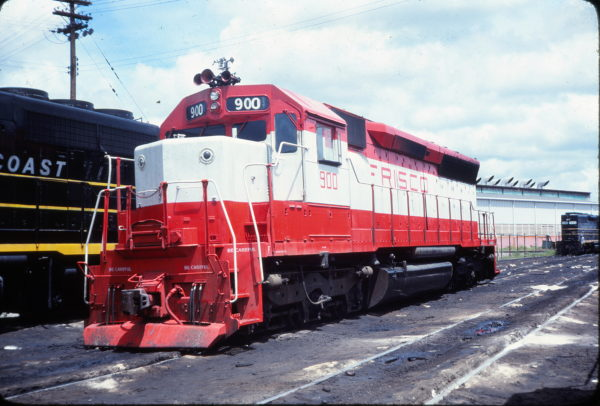 SD45 900 (location unknown) in August 1974