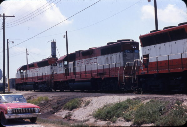 SD45 917 and GP38AC 645 at Mobile, Alabama (Sconza)