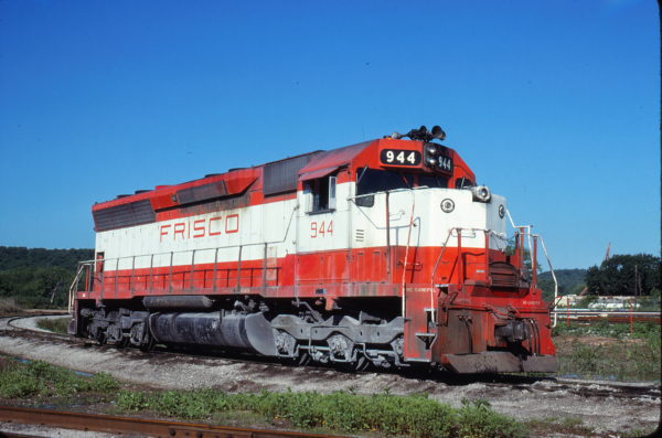 SD45 944 at Tulsa, Oklahoma on May 17, 1980 (John C. Benson)