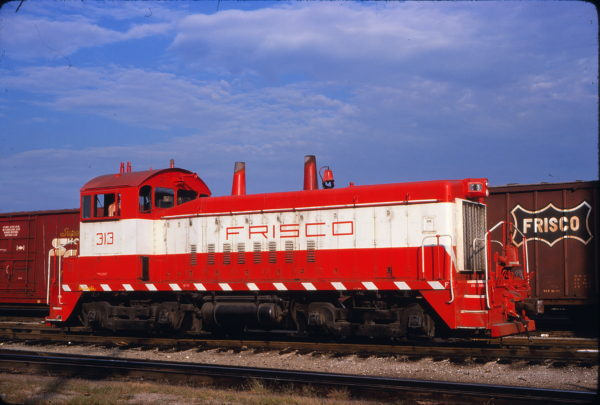 SW9 313 at St. Louis, Missouri on August 31, 1980 (Bob Wilt)