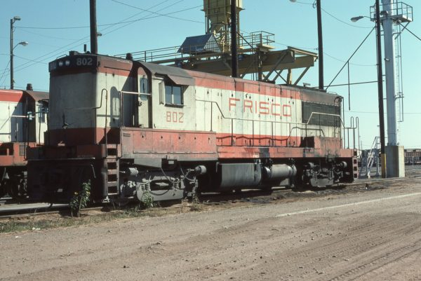 U25B 802 at Tulsa.,Oklahoma on October 16, 1976 (Richard Yaremko)