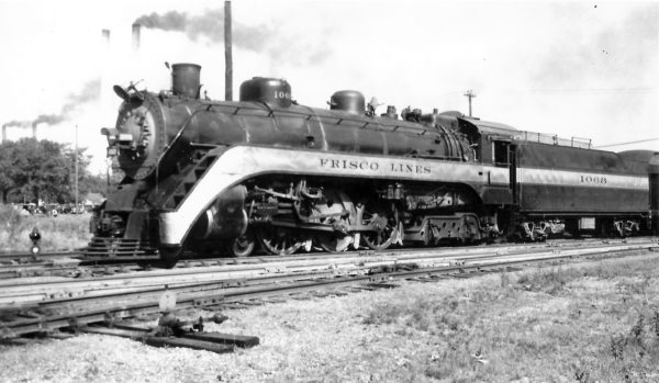 4-6-4 1068 at Tulsa, Oklahoma on June 21, 1947 (Arthur B. Johnson)