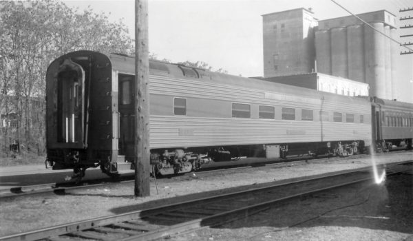 56 Seat Chair Car 1254 at Springfield, Missouri on June 11, 1959 (Arthur B. Johnson)