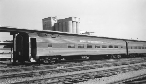 56 Seat Chair Car 1256 at Springfield, Missouri on October 31, 1965 (Arthur B. Johnson)