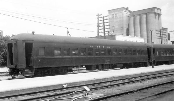 60 Seat Coach 1062 at Springfield, Missouri on May 28, 1967 (Arthur B. Johnson)