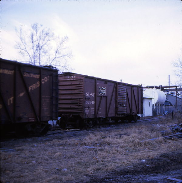 Boxcar 32340 at Cape Girardeau, Missouri in 1971 (Ken McElreath)