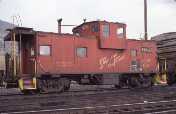 Caboose 1210 (location unknown) in May 1978