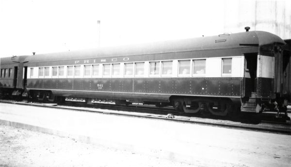 Chair Car 761 at Springfield, Missouri on December 7, 1947 (Arthur B. Johnson) (Painted for Firefly)