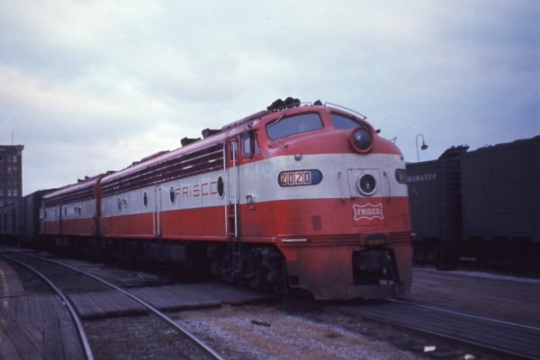 E8A 2020 (Formerly Big Red) Memphis Central Station in December 1967