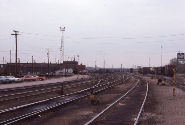Looking East at Lindenwood Yard, St. Louis, Missouri in June 1977