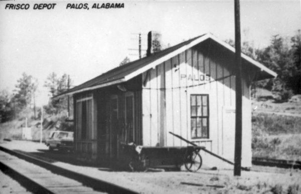 Palos, Alabama Depot (Postcard)
