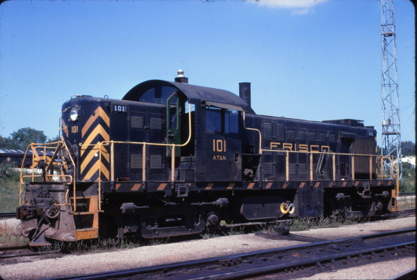 RS-1 101 at Springfield, Missouri on July 30, 1968
