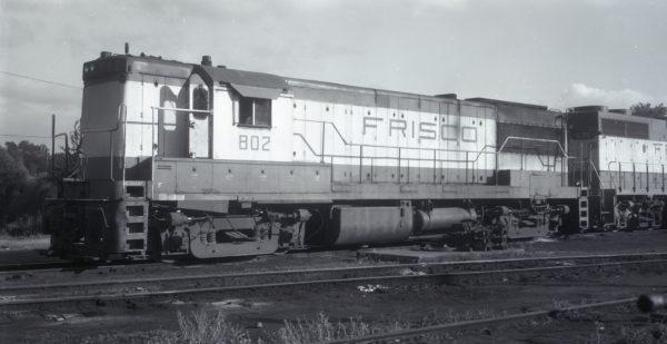 U25B 802 at Birmingham, Alabama on May 29, 1972
