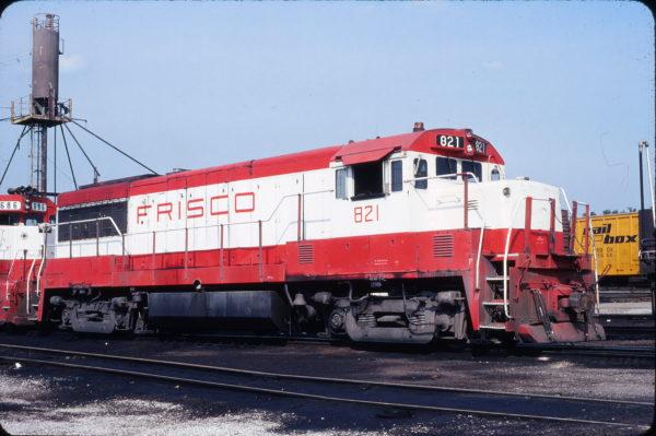 U25B 821 at St. Louis, Missouri on August 31, 1980 (Jim Wilson)