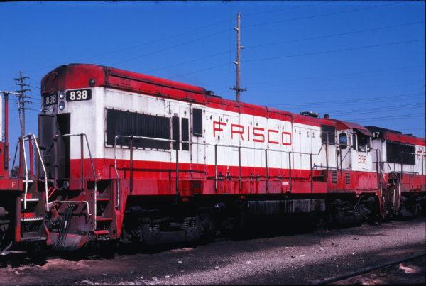 U30B 838 at Springfield, Missouri on September 18, 1978