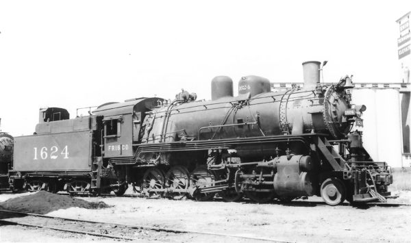 2-10-0 1624 at Enid, Oklahoma on September 23, 1948 (Arthur B. Johnson)