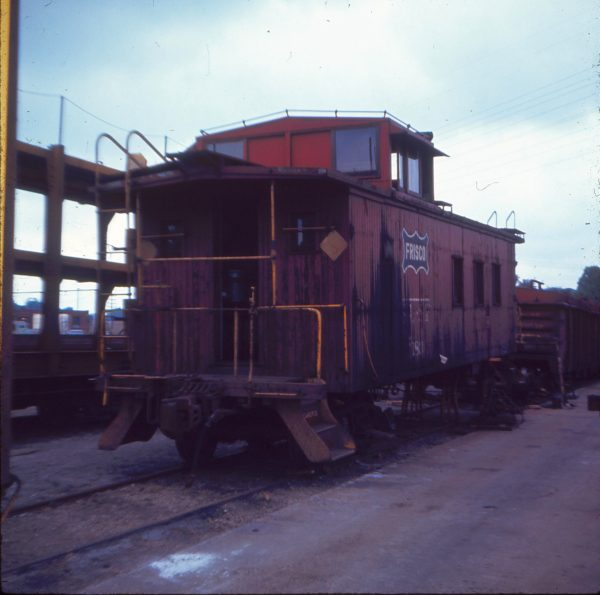 Caboose 1183 at St. Louis, Missouri in August 1970 (Ken McElreath)