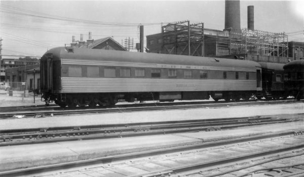 Diner Car Kansas City at Springfield, Missouri on August 2, 1959 (Arthur B. Johnson)