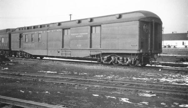 Railway Post Office 131 at Springfield, Missouri on February 1, 1948 (Arthur B. Johnson)