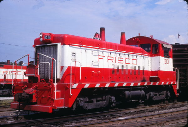 SW9 313 at St. Louis, Missouri on August 31, 1980 (John Benson)