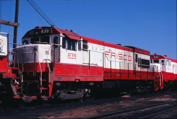 U30B 839 at Springfield, Missouri on September 18, 1978