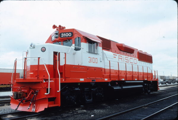 GP50 3100 at Cicero, Illinois in December 1980 (Steve Smedley)