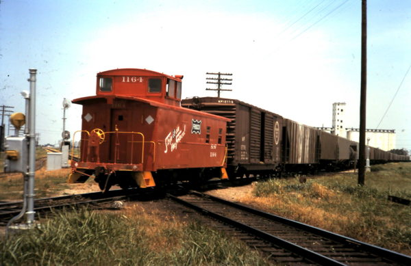 Caboose 1164 Enid, Oklahoma (date unknown)