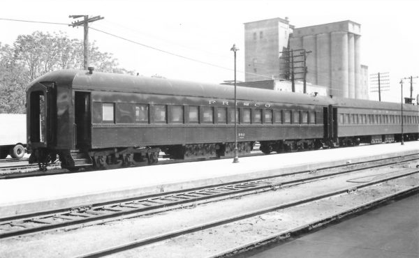 Chair Car 759 at Springfield, Missouri on May 1, 1960 (Arthur B. Johnson)