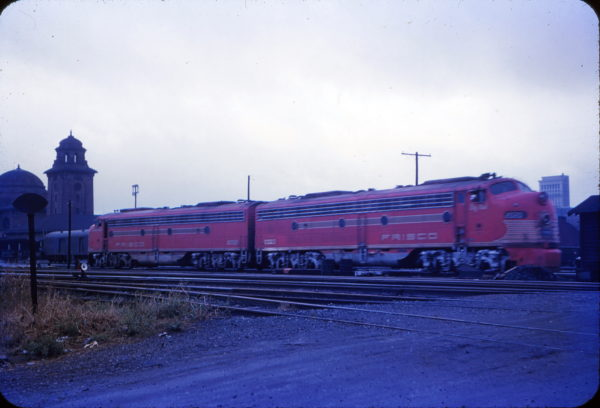 E8As 2020 (Big Red) and 2021 (Gallahadion) at Birmingham, Alabama in 1956