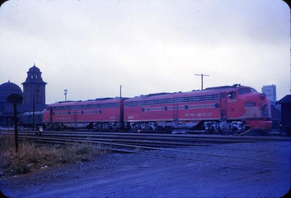 E8As 2020 (Big Red) and 2021 (Gallahadion) at Birmingham, Alabama in 1956