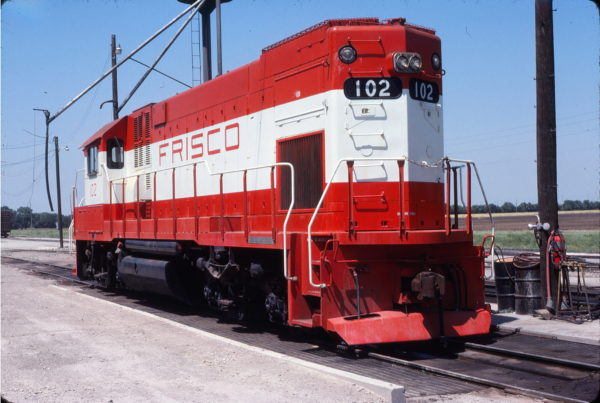 GP15-1 102 at Wichita, Kansas on June 11, 1978