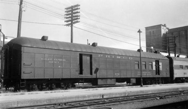 Railway Post Office 202 at Springfield, Missouri on October 22, 1967 (Arthur B. Johnson)