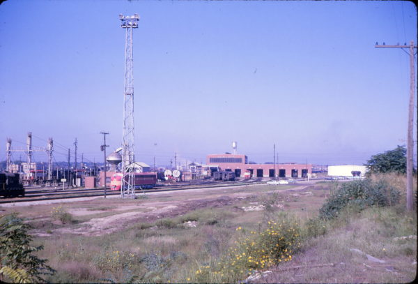 Springfield, Missouri Diesel Shop in October 1965