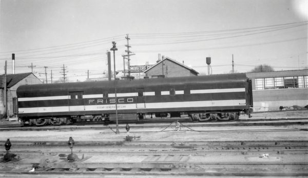 Steam Generator Car 51 at Springfield, Missouri on January 8, 1967 (Arthur B. Johnson)